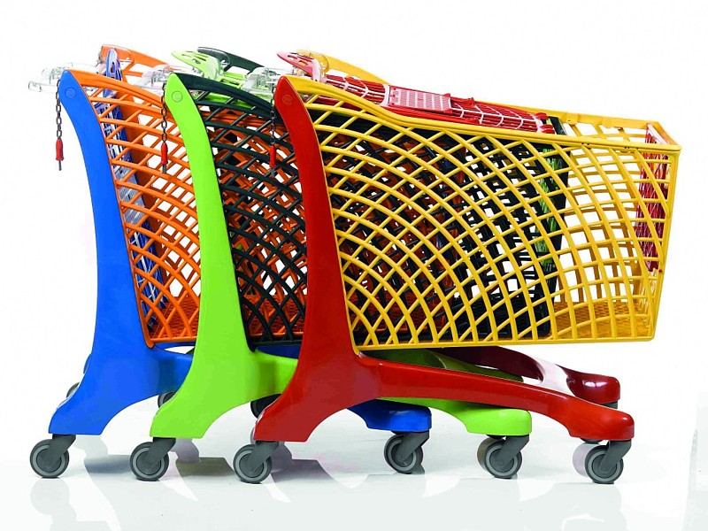 Plastic Shopping Trolleys Ireland