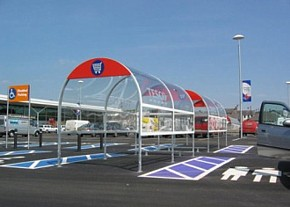 Shopping Trolley Bays
