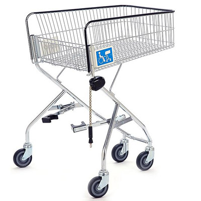 100L Disabled Shopping Trolley