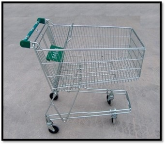 135L Shopping Trolley