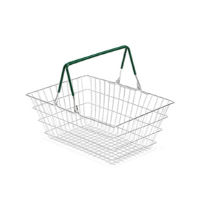 19L Wire Shopping Basket