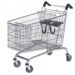 232L Twin Toddler Shopping Trolley