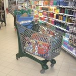 Duka (210L) Trolley used by Carrefour Avranches in France