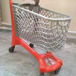 City (110L) Trolley Red/Grey