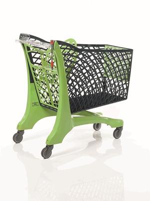 Duka Eco Trolley Grey/Green
