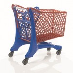 Duka Eco Trolley Blue/Red
