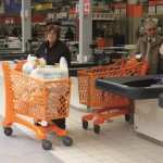 Duka (210L) Trolley used by Ipercoop Quarto in Italy