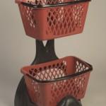 Kery Eco Basket Holder Trolley