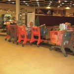 Duka (210L) & Twiga (150L) Trolleys in Migros Biel Switzerland