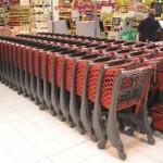 Twiga (150L) Trolley used by Simply Shopping Market in Wiatraczna Poland