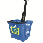 Speesy Plastic Shopping basket with Logo
