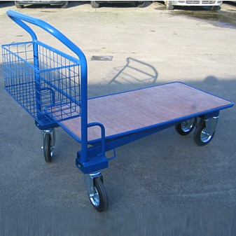 Blue Garden Centre Trolley