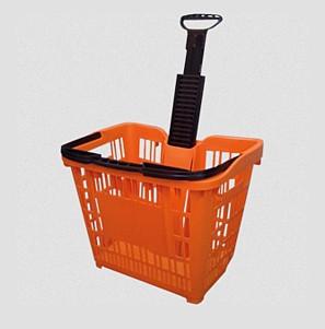 Wheeled Shopping Baskets