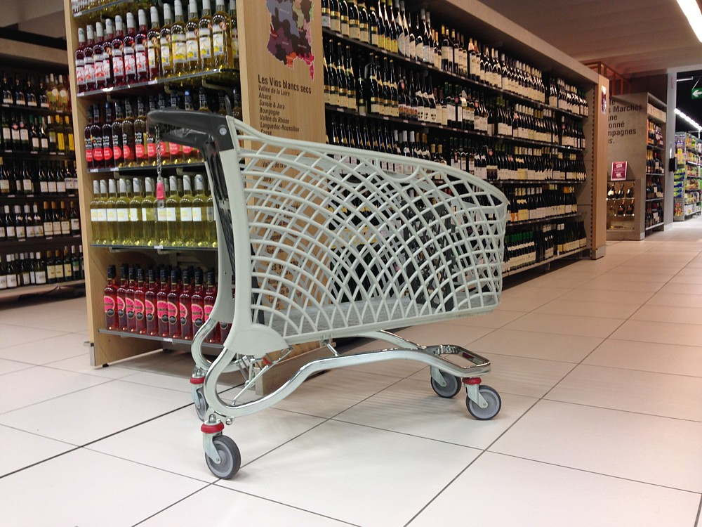 Eco Trolley Hybrid 240 Shopping Trolley