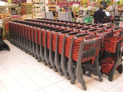 Eco Trolley - Plastic Shopping Trolley