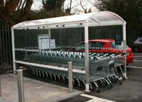 Customised Shopping Trolley Bay