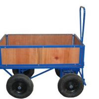 Turntable With Timber Sides