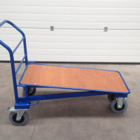 Timber Cash and Carry Trolleys Mann Engineering