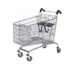 232L-Twin-Toddler-Steel-Shopping-Trolley
