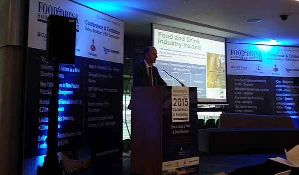 Food & Drink Conference sEPT 2015 Aviva Stadium