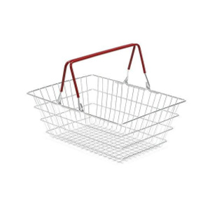 23L Wire Shopping Basket