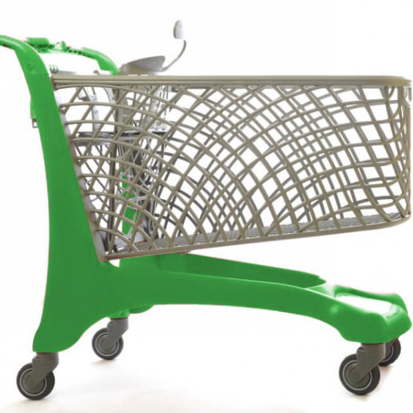 City 110lt Eco Shopping Trolley
