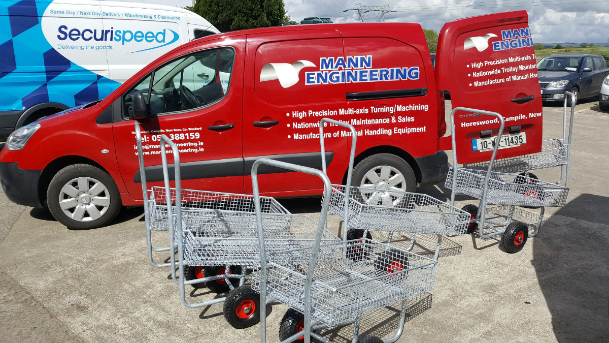 New Garden Centre Trolleys for Coolaught Gardens