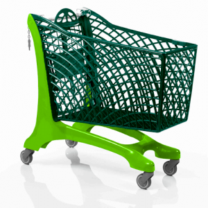Duka Plastic Shopping Trolley