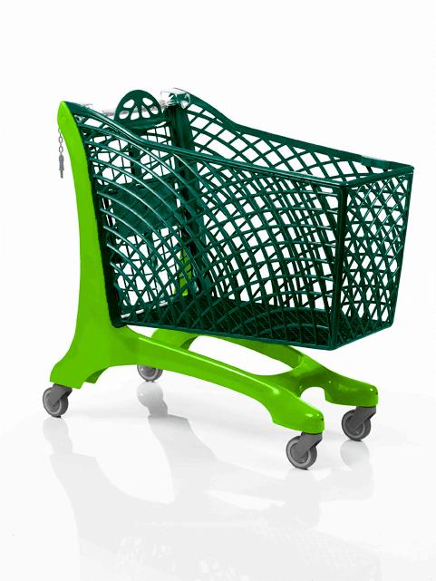 Duka Plastic Shopping Trolley