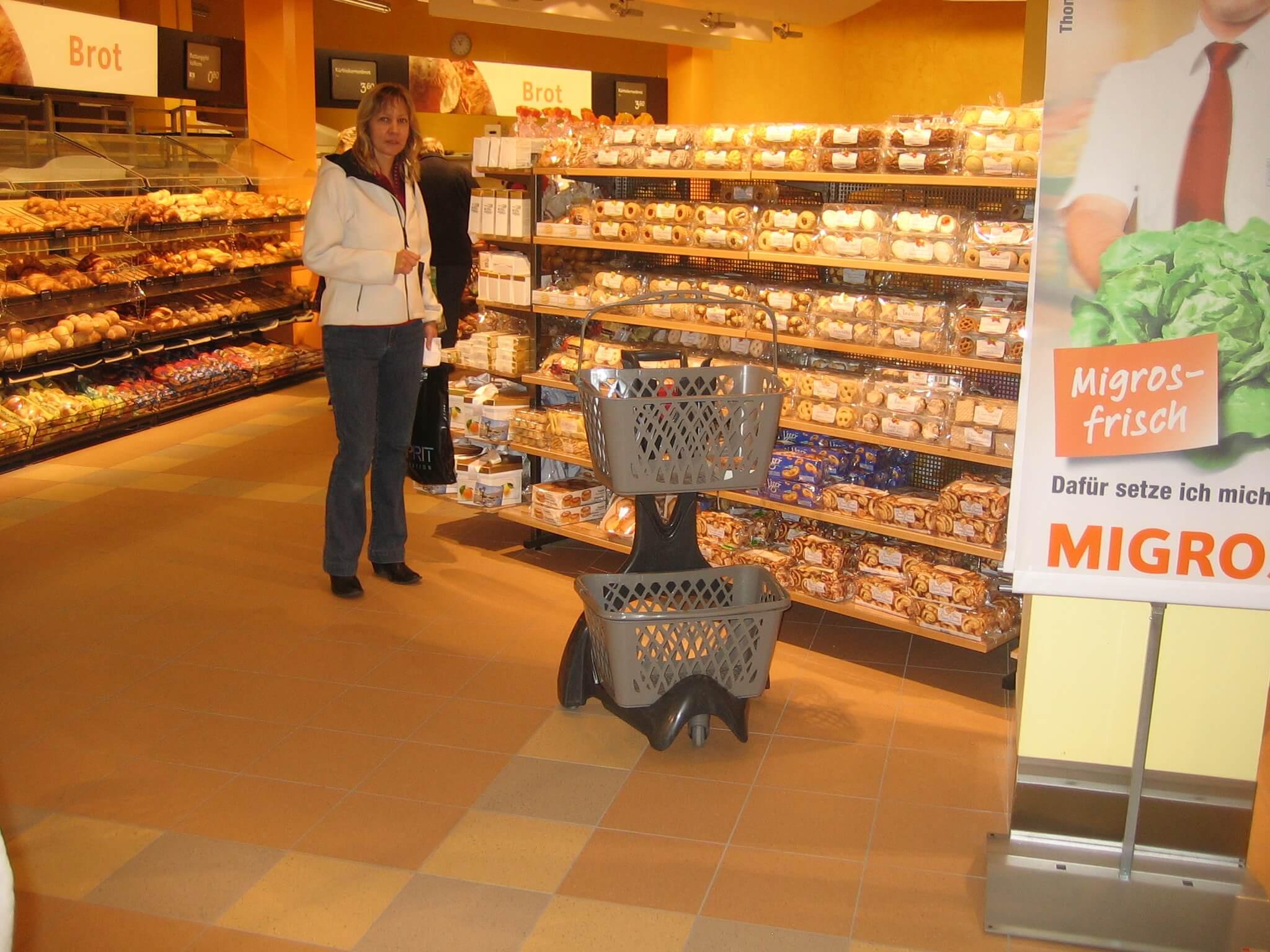 Furbo Double Shopping Basket Holder