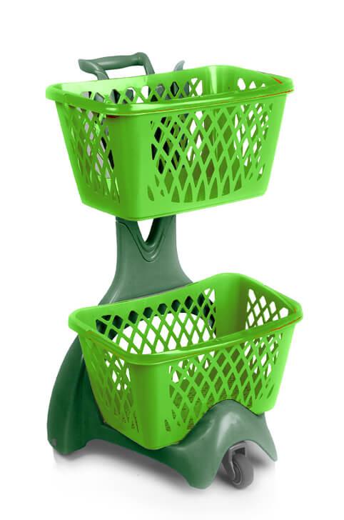 Furbo Plastic Shopping Basket Holder