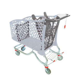 Hybrid 240lt Eco Shopping Trolley from Mann Engineering