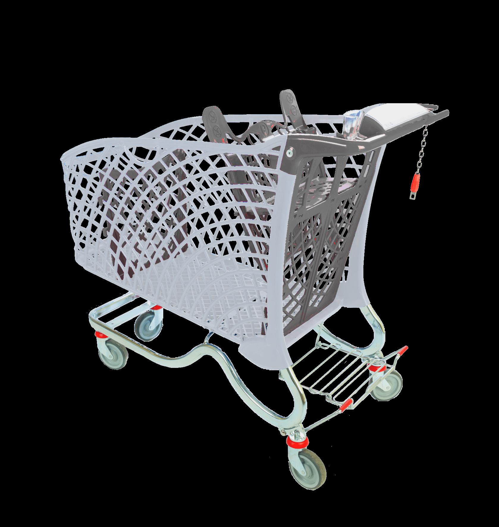 Hybrid 240lt Eco Shopping Trolley from Mann Engineering