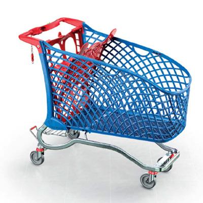 IPER 240L  Hybrid Shopping Trolley