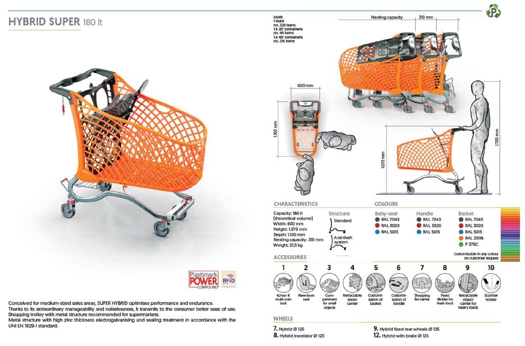 Hybrid Super 180 Litre Specification
