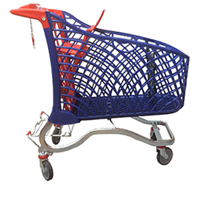 Super 180L Hybrid Shopping Trolley