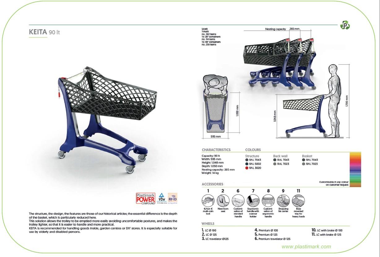 Keita 90L Specification