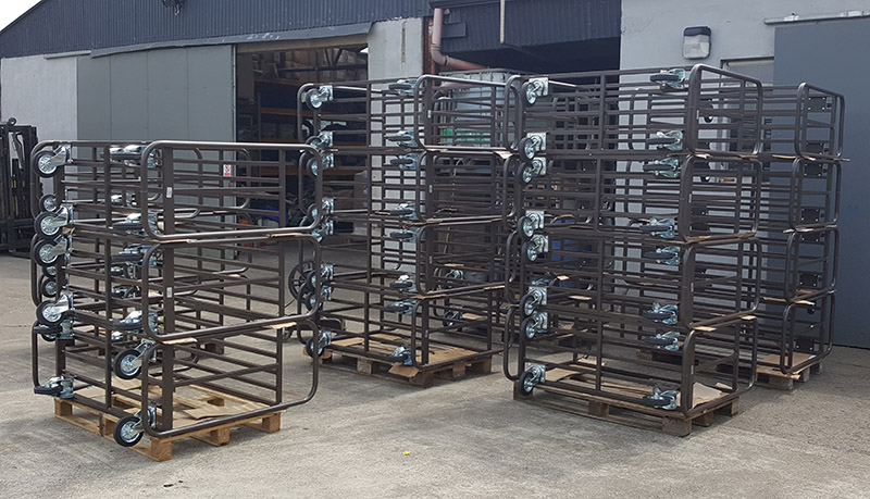 Stock Trolleys - Store Trucks Ready for Shipping