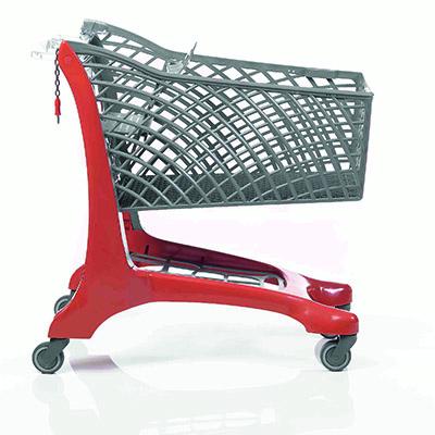 Twiga 150L Shopping Trolley