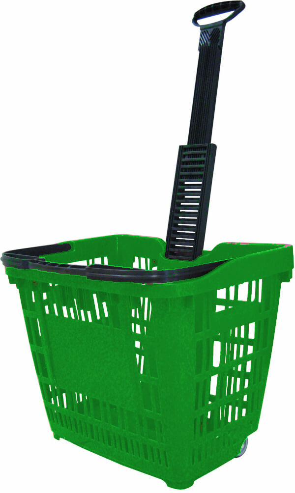 45lt - Speesy Shopping Basket with Wheels